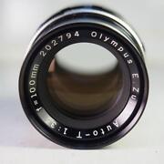 Olympus Pen Lens
