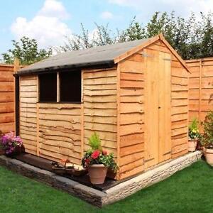 6x4 wooden garden sheds