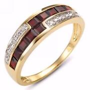 18K Gold Filled Mens Ring