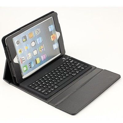 For Apple iPad Mini Stand Leather Case Cover With Removable