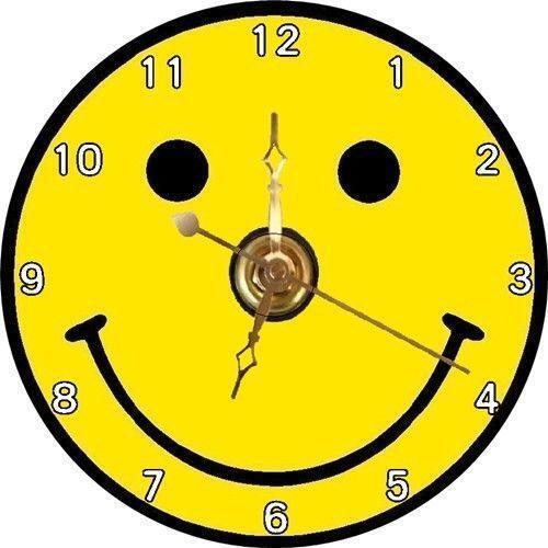 Smiley Face Clock Ebay