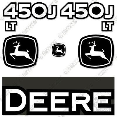 John Deere 450j Lt Decal Kit Dozer Replacement Sticker Set Equipment Decals