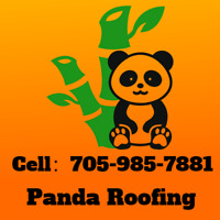 Panda Roofing-Free Estimate-15 Years Warranty-Call 705-985-7881