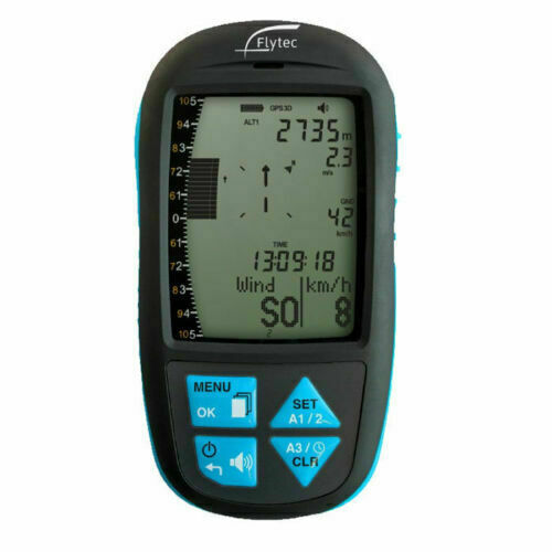 Flytec Element Speed Gps Variometer  For Paramotoring, Ppg And Hang Gliding.