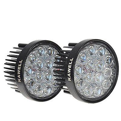 - KAWELL® 2 Pack 42W 60 Degree LED Flood Light Off Road Lighting 12V 24V Quad Atv