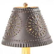 Punched Tin Lamp Shade