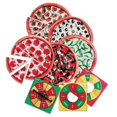 Learning Resources Pizza Fraction Fun Jr. Game Mathematics & Counting