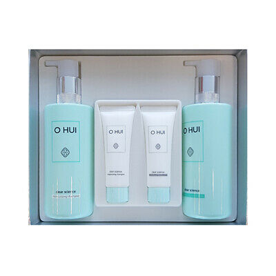 [OHUI] Clinic Science Moisturizing Hair 2 Step Set - 1pack (4items)