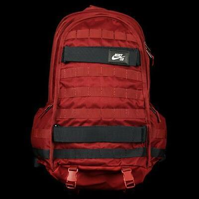 Nike SB RPM Backpack Burgundy BA5403-677 School Laptop Bag Skateboard
