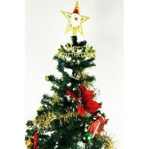 Fully Decorated Christmas Pine Tree