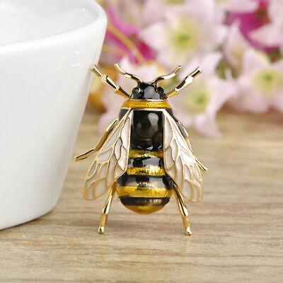 Brosche Biene Honig Imker Königin Bienenkönigin Anstecknadel elegant schön