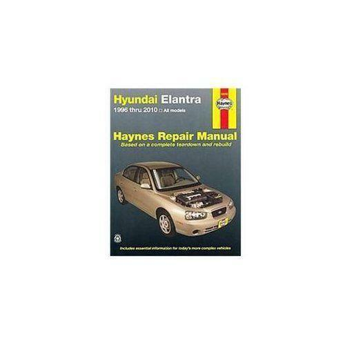 hyundai elantra repair manual ebay. Black Bedroom Furniture Sets. Home Design Ideas