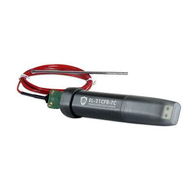 Lascar Electronics El-21cfr-tc Kjt-type Thermocouple Usb Data Logger
