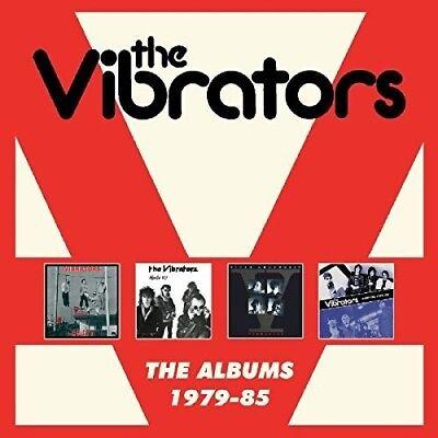 The Vibrators   Albums 1979 1985  New Cd  Uk   Import