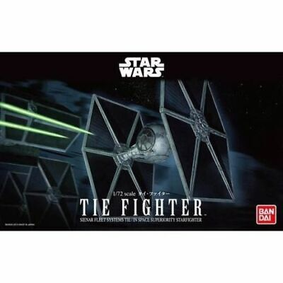Bandai Hobby Star Wars Tie Fighter 1/72 Scale Model Kit Return of the Jedi ()