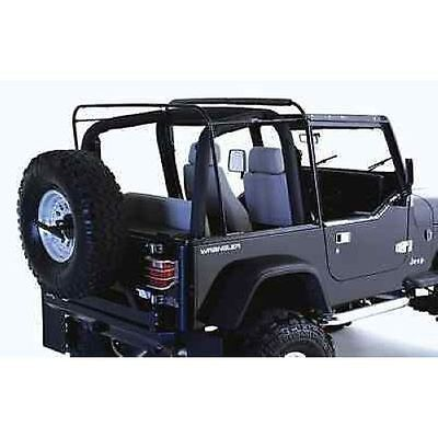 (Rampage 69999 Replacement Soft Top Bow & Hardware fits 87-95 Wrangler)