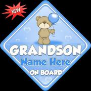 Grandson on Board