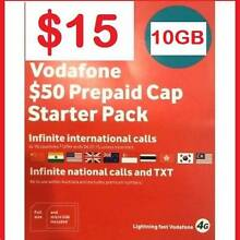 15 each. Vodafone $50 Starter Packs. $15 each. O484*189*733 Castle Hill The Hills District Preview