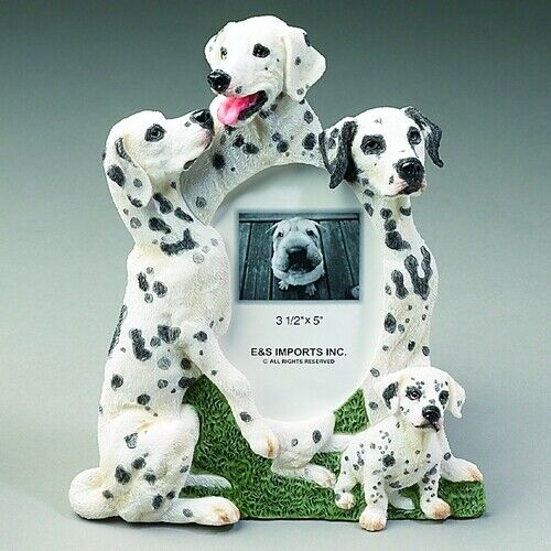 Dalmatian 3.5x5 Picture Frame By E&S Imports ~NEW~