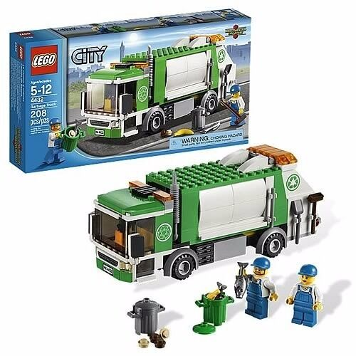 Lego City 4432 Garbage Truck Retired Set Complete 100 With