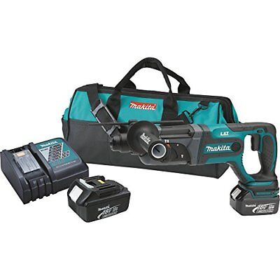 Makita Xrh04 18v Lxt Lithium-ion Cordless 78-inch Sds Plus Rotary Hammer Kit
