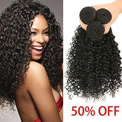 100/300g Best Bundle Virgin Human Hair Weave Brazilian Kinky Curly Hair