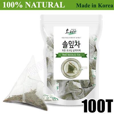 100% Natural Pine Needle Tea Medicinal Herbal 100Bags Medicinal Korean Herbal