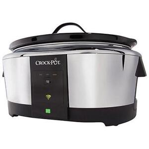 Crock-Pot Wi-Fi WeMo Smart Slow Cooker - 5.7L