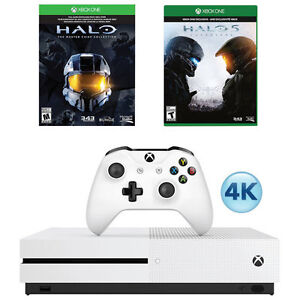 Xbox One S 500GB Halo Collection Bundle Unopened West Island Greater Montréal image 1