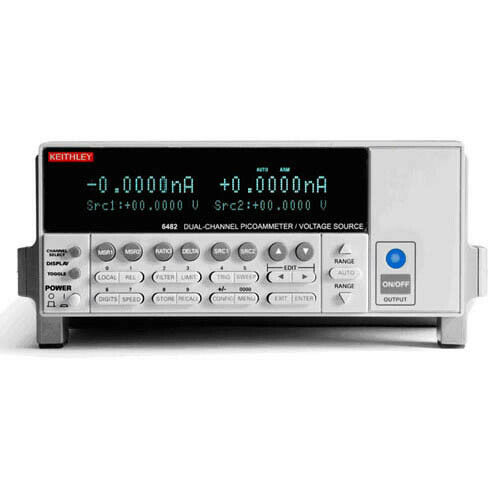 Keithley 6482 Dual-Channel Picoammeter/Voltage Source w/GPIB & RS-232