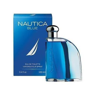 Nautica Blue By Nautica 3.3 / 3.4 oz EDT Spray New In Box Sealed Cologne For Men