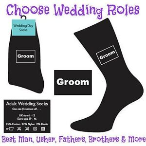 BLACK-WEDDING-DAY-SOCKS-FOR-MEN-GROOM-BEST-MAN-ETC-MA1