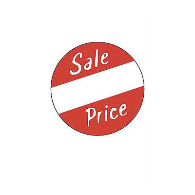 Roll Of 500 New Retails Self-adhesive Sales Price Labels 1 Dia Circle