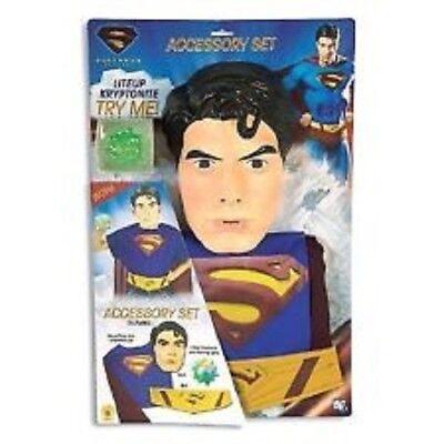 Jungen Kind Superman Returns Zubehörset Satz Kostüm