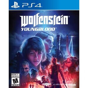 Wolfenstein Young Blood ps4