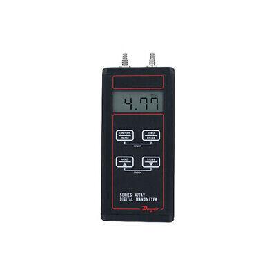 Dwyer 477av-3 Handheld Digital Manometer 0-200 Psi Air Velocityflow