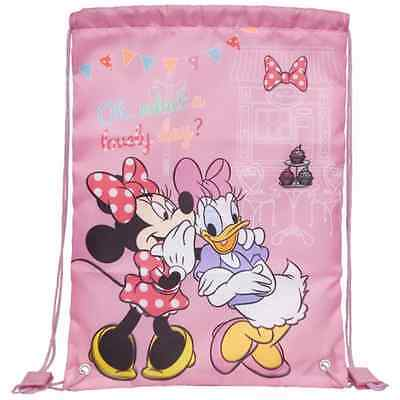 Minnie Maus und Daisy Duck Disney Sportbeutel Turnbeutel Sporttasche NEU & OVP
