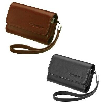 RIM (OEM) Leather Folio Mobile Cover Pouch Case For BlackBerry Bold 9000