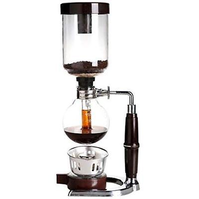5-Cup Coffee Syphon Tabletop Siphon Vacuum Coffee Maker Brewing Coffee and Tea Brewing Tea Coffee Maker