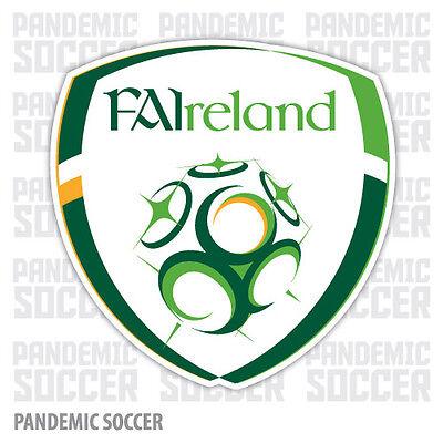 Ireland National Team Soccer Vinyl Sticker Decal Football UEFA Color Irish