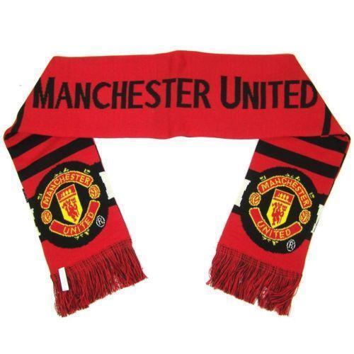 manchester united scarf soccer international clubs ebay