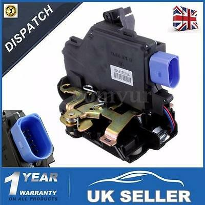 Front Right /Driver Side Door Lock Control Mechanism For VW Golf Mk5 (2003-2009)