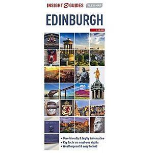 Insight Guides: Flexi Map Edinburgh (Insight Flexi Maps), , New Book