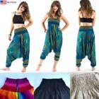 Synthetic Harem Harem Pants Pants for Women