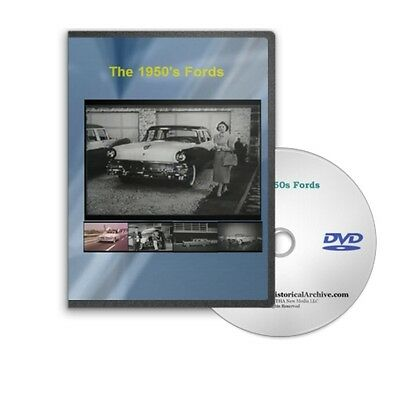 the 1950 apos s fords sales training promotional series dvd safety fairlaine c179