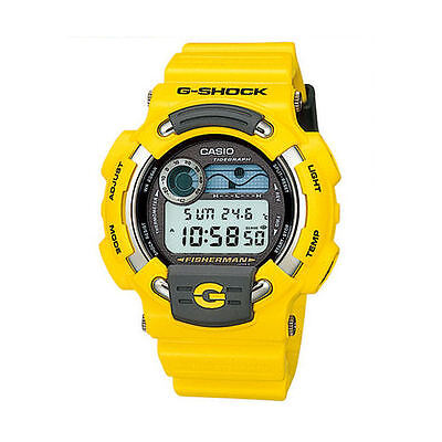 *NEW CONDITION* Casio G-Shock 1998 'FISHERMAN - MEN IN YELLOW' DW8600YJ-9T Watch, used for sale  Shipping to Canada