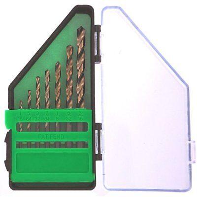 Hitachi Power Tools 7-Piece Black Gold 135° Split Point Drill Tip Set, 728079G (Hitachi Power Drill Set)