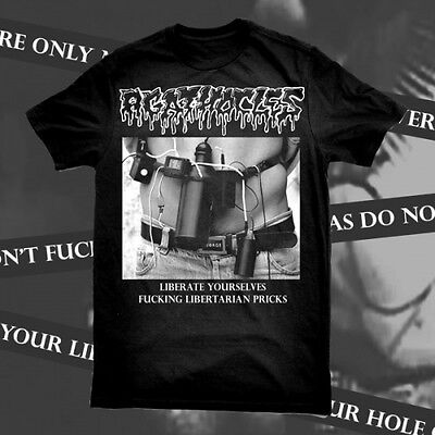 AGATHOCLES Liberate Yourselves T-SHIRT grind UNHOLY GRAVE Rot MALIGNANT TUMOUR