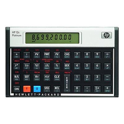 Hewlett Packard HP 12C Platinum Financial Calculator