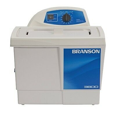 Branson M3800h 1.5 Gallon Ultrasonic Cleaner W Mechanical Heater Cpx-952-317r